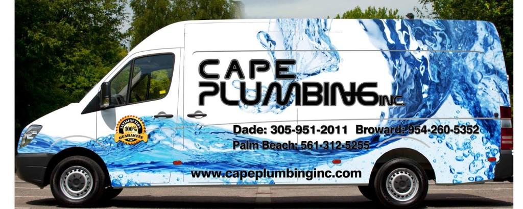 Plumbing van